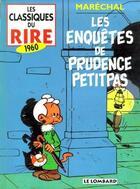 Couverture du livre « Les classiques du rire t.3 ; les enquêtes de Prudence Petitpas » de Isabelle Marechal aux éditions Lombard