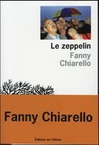 Couverture du livre « Le zeppelin » de Fanny Chiarello aux éditions Editions De L'olivier