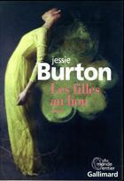 Couverture du livre « Les filles au lion » de Jessie Burton aux éditions Gallimard