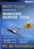 Couverture du livre « Administrateur Windows Server 2008 » de Mclean et Thomas aux éditions Microsoft Press