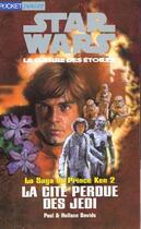 Couverture du livre « La Cite Perdue Des Jedi T.2 » de Paul Davids et Hollace aux éditions Pocket
