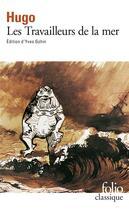 Couverture du livre « Les travailleurs de la mer » de Victor Hugo aux éditions Gallimard