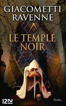 Couverture du livre « Le temple noir » de Eric Giacometti et Jacques Ravenne aux éditions 12-21