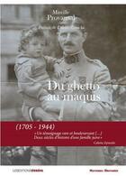 Couverture du livre « Du ghetto au maquis (1705-1944) » de Mireille Provansal aux éditions Ovadia