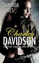 Couverture du livre « Charley Davidson T.5 ; cinquième tombe au bout du tunnel » de Darynda Jones aux éditions Milady