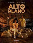 Couverture du livre « Alto Plano T.3 ; New York » de Corbeyran aux éditions Delcourt