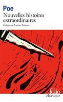 Couverture du livre « Nouvelles histoires extraordinaires » de Edgar Allan Poe aux éditions Gallimard