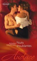 Couverture du livre « Nuits troublantes » de Donna Kauffman aux éditions Harlequin
