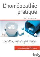 Couverture du livre « L'homéopathie pratique » de Binet Dr. Claude aux éditions Dangles