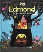 Couverture du livre « Edmond, la fête sous la lune » de Marc Boutavant et Astrid Desbordes aux éditions Nathan
