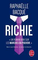Couverture du livre « Richie » de Raphaelle Bacque aux éditions Lgf