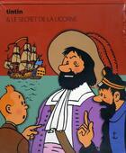 Couverture du livre « Les aventures de Tintin T.11 ; le secret de la licorne » de Herge aux éditions Moulinsart Belgique