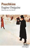 Couverture du livre « Eugène Onéguine » de Alexandre Pouchkine aux éditions Gallimard