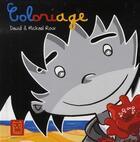 Couverture du livre « Coloriage » de Dawid+Roux-M aux éditions Carabas