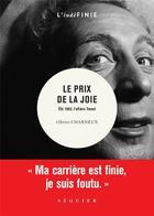 Couverture du livre « Le prix de la joie ; été 1963, l'affaire Charles Trenet » de Olivier Charneux aux éditions Seguier