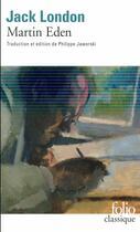 Couverture du livre « Martin Eden » de Jack London aux éditions Gallimard