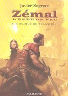 Couverture du livre « La dentelle du cygne » de Javier Negrete aux éditions L'atalante
