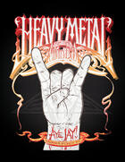 Couverture du livre « Heavy Metal Fun Time Activity Book » de Brian Harvey et Aye Jay Morano et W.K., Aye Jay Morano, Foreword By Andrew aux éditions Ecw Press