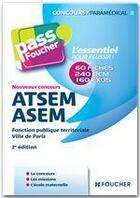 Couverture du livre « ATSEM/ASEM ; nouveaux concours (2e édition) » de Anne Ducastel aux éditions Foucher