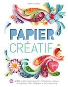 Couverture du livre « Papier créatif » de Collectif aux éditions Modus Vivendi