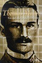 Couverture du livre « Thomas mann ; les métamorphoses d'hermès » de Helene Vuillet aux éditions Pu De Paris-sorbonne