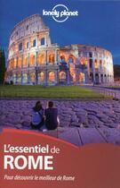 Couverture du livre « L'essentiel de Rome » de Abigail Blasi aux éditions Lonely Planet France