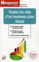 Couverture du livre « Toutes les clés d'un business plan réussi » de Ranchon/Gresy aux éditions Esf Prisma