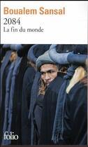 Couverture du livre « 2084 ; la fin du monde » de Boualem Sansal aux éditions Gallimard