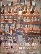 Couverture du livre « L'Orient chrétien » de Tania Velmans aux éditions Picard