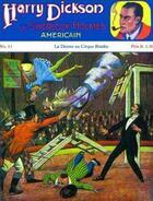 Couverture du livre « Harry Dickson t.2 ; le drame au cirque Bianky » de Jean Ray et Alfred Roloff aux éditions Ananke
