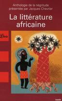 Couverture du livre « La littérature africaine » de Jacques Chevrier aux éditions J'ai Lu