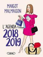 Couverture du livre « L'agenda de margot malmaison » de Margot Malmaison aux éditions Michel Lafon