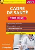 Couverture du livre « Cadre de santé ; tout-en-un (édition 2021) » de Badia Jabrane aux éditions Studyrama