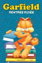 Couverture du livre « Garfield ; BD thématique ; rentrée rusée » de Jim Davis aux éditions Presses Aventure