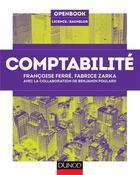 Couverture du livre « Comptabilité » de Francoise Ferre et Fabrice Zarka et Benjamin Poulard aux éditions Dunod