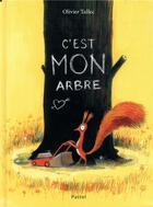 Couverture du livre « C'est mon arbre » de Olivier Tallec aux éditions Ecole Des Loisirs