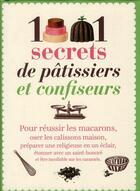 Couverture du livre « 1001 secrets de patissiers confiseurs » de Crolle et Terzaghi aux éditions Prat