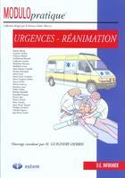 Couverture du livre « Urgence Reanimation Modulo Pratique » de Mallay... aux éditions Estem