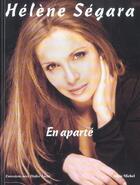 Couverture du livre « En Aparte » de Helene Segara et Didier Lecat aux éditions Albin Michel