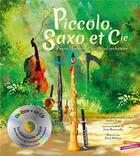 Couverture du livre « Piccolo et saxo » de Broussolle/Popp aux éditions Gautier Languereau