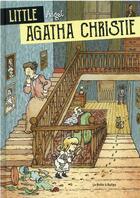 Couverture du livre « Little Agatha Christie » de William Augel aux éditions La Boite A Bulles