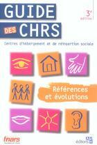 Couverture du livre « Guide Des Chrs 3e Edition. References Et Evoltions » de Lallemand/Catah aux éditions Ash