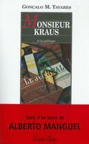 Couverture du livre « Monsieur Kraus » de Goncalo M. Tavares aux éditions Viviane Hamy
