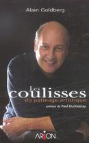 Couverture du livre « Les Coulisses Du Patinage Artistique » de Alain Goldberg aux éditions Arion