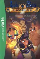 Couverture du livre « Iah & Séti ; les aventuriers du Nil T.4 ; la malédiction » de Christine Feret-Fleury aux éditions Hachette Jeunesse