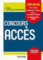 Couverture du livre « Méthodo t.1 ; concours Accès 2020 ; tout-en-un (6e édition) » de Marie-Virginie Speller et Pia Boisbourdain aux éditions Dunod