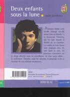 Couverture du livre « Deux enfants sous la lune » de Jackie Landreaux aux éditions J'ai Lu