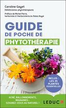 Couverture du livre « Guide de poche de phytothérapie » de Caroline Gayet aux éditions Leduc.s