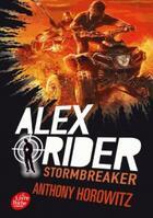 Couverture du livre « Alex Rider T.1 ; stormbreaker » de Anthony Horowitz aux éditions Hachette Jeunesse