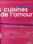 Couverture du livre « Pack les cuisines de l'amour » de Blandine Vie aux éditions Agnes Vienot
